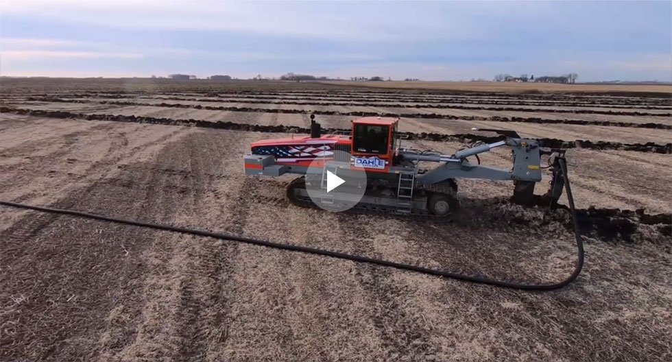 Dahle Enterprises Field Tiling Video Screenshot